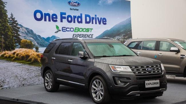 Ford Explorer – Nhân tố mới trong phân khúc SUV cỡ trung cao cấp