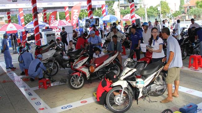 Ngày hội chăm sóc xe máy sắp diễn ra
