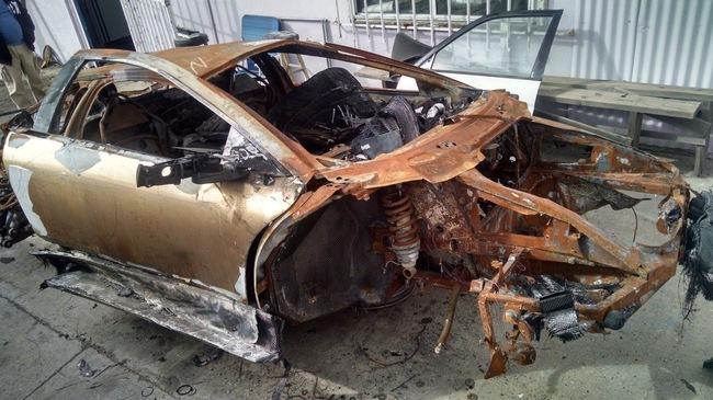 """Lamborghini Murcielago LP640 """"đồng nát"""" vẫn được rao bán 345 triệu Đồng"""