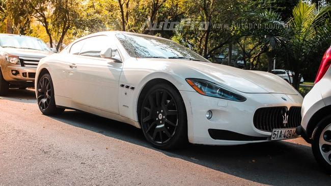 Maserati GranTurismo của ông chủ cà phê Trung Nguyên tái xuất