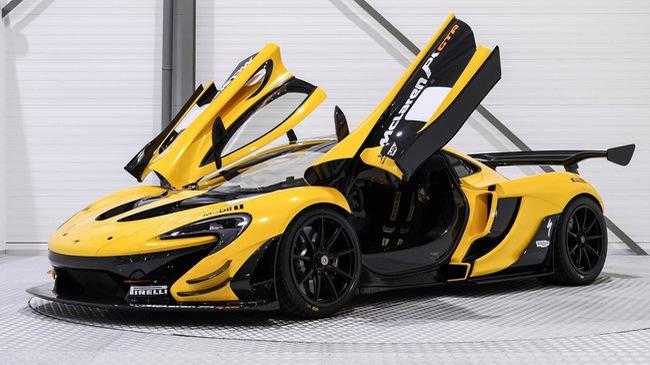 Mẫu xe dành nhiều thời gian để ngắm McLaren P1 GTR có giá rao bán 75 tỷ Đồng
