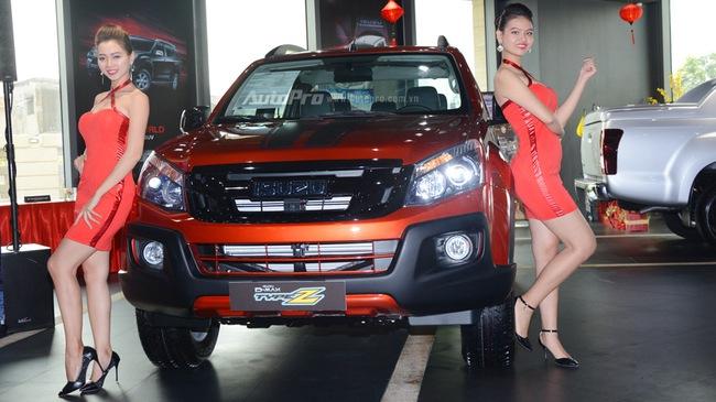 Isuzu D-Max Type Z 2017 ra mắt khách hàng Việt, giá từ 760 triệu Đồng