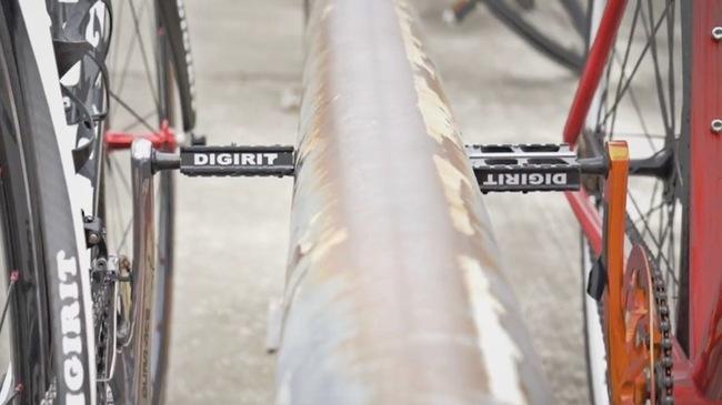Đỗ xe đạp chưa bao giờ dễ như thế