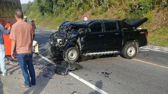Đà Nẵng: Tai nạn nghiêm trọng trên đường dẫn Nam hầm Hải Vân, 4 người bị thương
