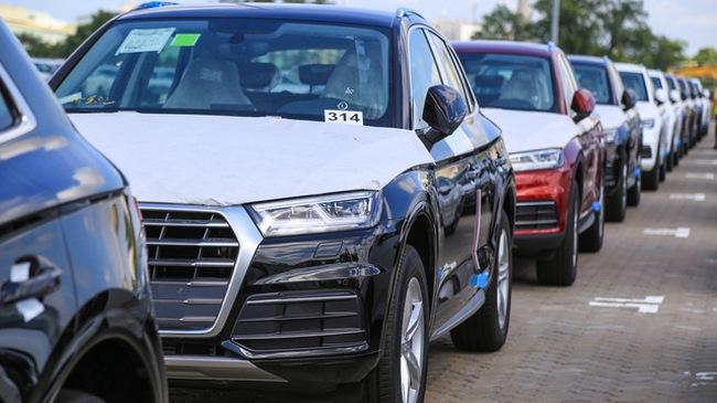 Dàn xe Audi Q5 phiên bản mới phục vụ APEC 2017 cập bến Việt Nam