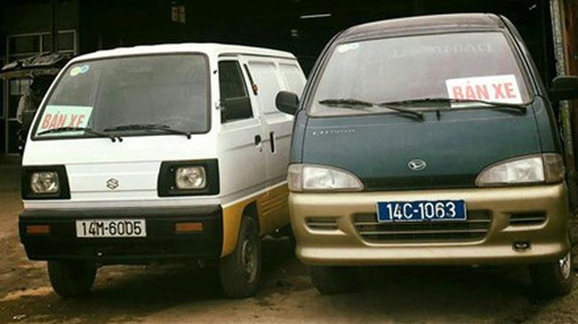 Xe ô tô biển xanh được rao bán công khai