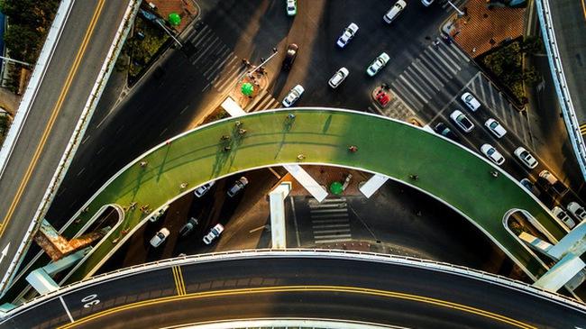 Chiêm ngưỡng tuyến đường trên cao dành cho xe đạp dài nhất thế giới tại Trung Quốc