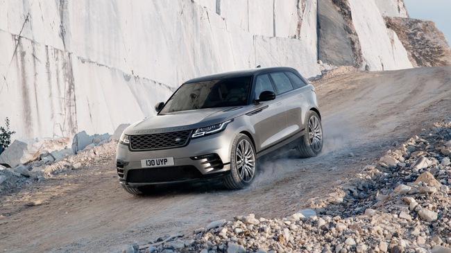 SUV hạng sang Range Rover Velar chính thức được vén màn, giá từ 50.895 USD