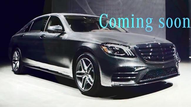 """""""Xe hot"""" Mercedes-Benz S-Class 2018 lộ diện rõ nhất từ trước đến nay"""
