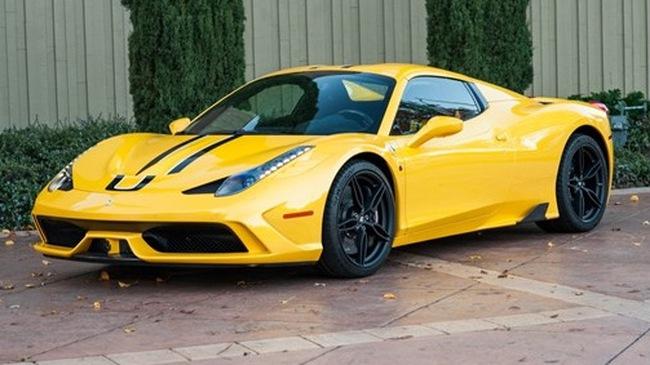 """Ferrari 458 Speciale Aperta đã qua sử dụng vẫn có giá """"chát"""""""