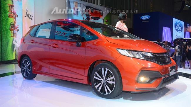 Honda Jazz sẽ được bán ra thị trường Việt Nam vào quý I năm sau