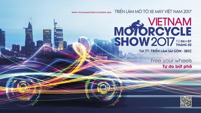 Triển lãm mô tô xe máy Việt Nam 2017 sắp diễn ra với 10 thương hiệu