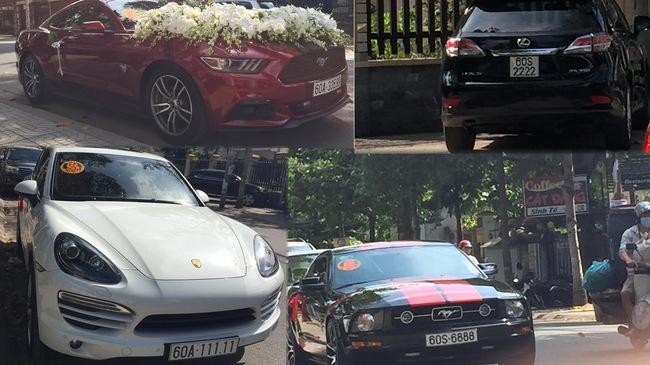 """Dàn xe """"khủng"""" biển đẹp tham gia rước dâu tại Đồng Nai"""