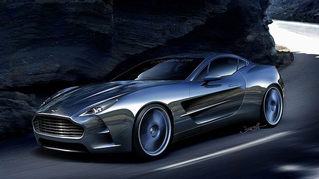 Siêu xe Aston Martin One-77 giá 2 triệu USD của Jon Sibal