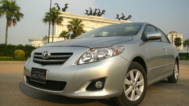 Corolla Altis 2008 - Rộng rãi và tiện nghi hơn