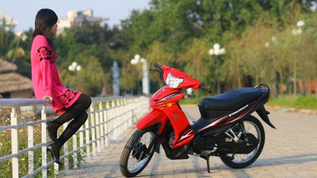 Yamaha Taurus 115: Trẻ trung và mạnh mẽ