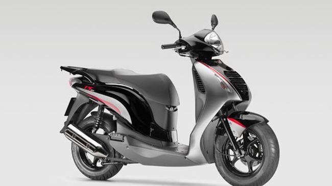 Honda PS125i/150i: Màu mới cho 2009