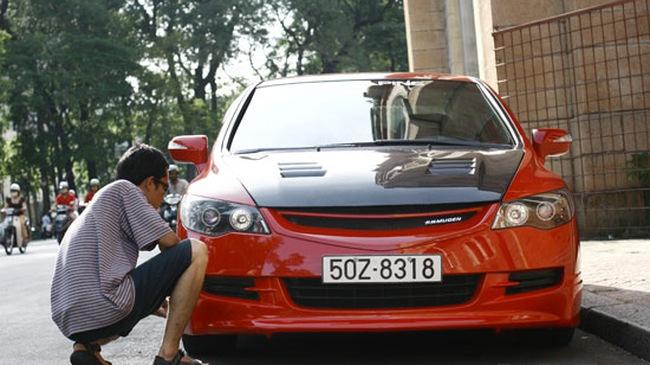 Xế độ Sài Gòn: Một chiếc Civic đẹp!