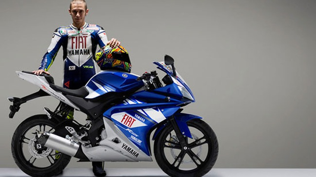 Yamaha giới thiệu YZF-R 125 phiên bản Valentino Rossi
