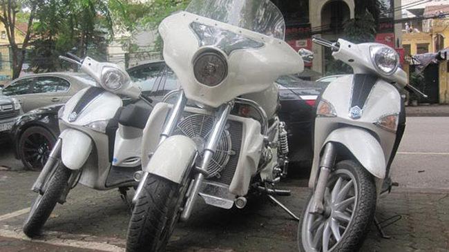 Siêu mô tô Boss Hoss về Hà Nội