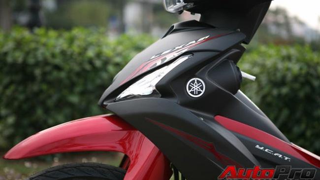 """Yamaha LEXAM 115: Xe ga với kiểu dáng """"xe số"""""""