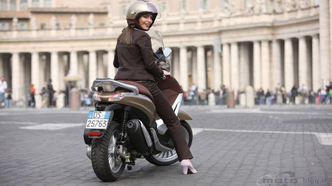 Piaggio ra mắt phiên bản Beverly 2010 125, 300cc