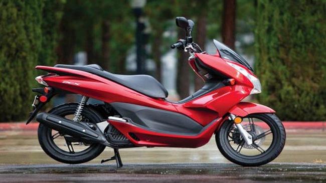Đã có Honda PCX 125 Thái Lan phiên bản 2011 mới