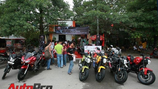 Rebel USA ra mắt dòng xe thể thao CB125R tại Hà Nội