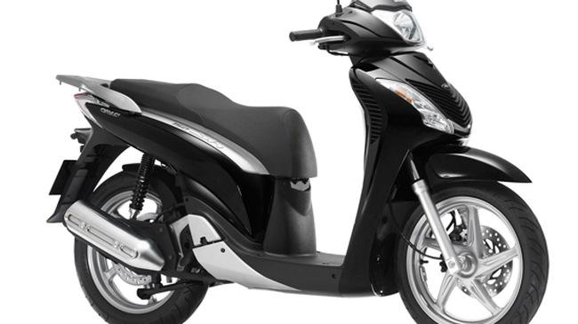 Honda Việt Nam ra mắt phiên bản SH125/150 màu đen
