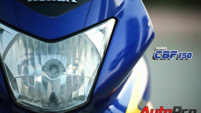 """Honda CBF 150: Nếu bạn thích """"ăn chắc, mặc bền"""""""