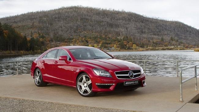 Đã có giá Mercedes-Benz CLS 63 AMG 2012