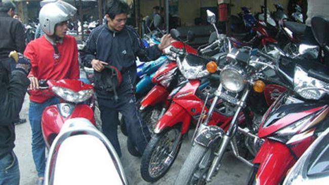 Cách chọn mua xe máy cũ