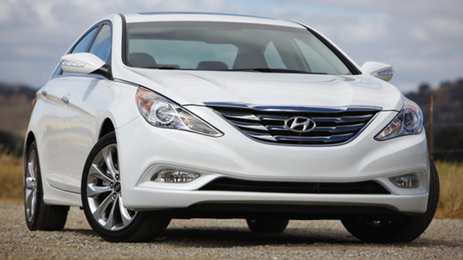 Hyundai Sonata 2012 tiết kiệm nhiên liệu hơn