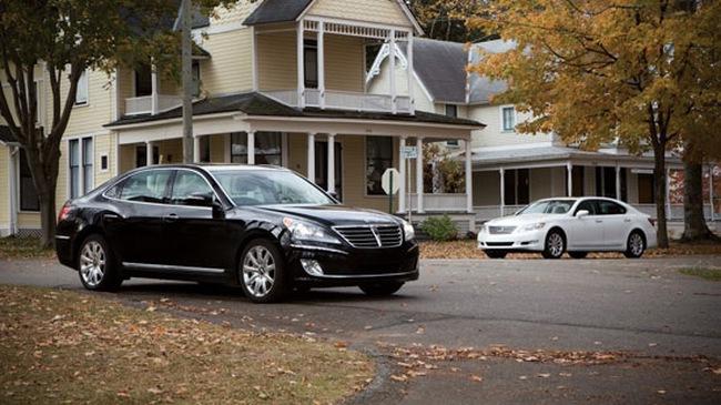 Hyundai Equus và Lexus LS460L – Kẻ tám lạng, người nửa cân