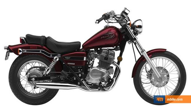 """2012 Honda Rebel 250 khoác """"áo"""" mới"""