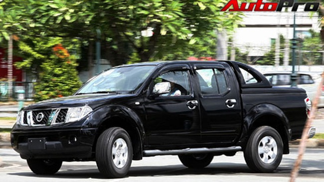 Nissan Navara - Đối thủ đáng gờm trong phân khúc xe bán tải