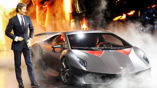 Siêu xe 2,9 triệu USD của Lamborghini sắp trình làng