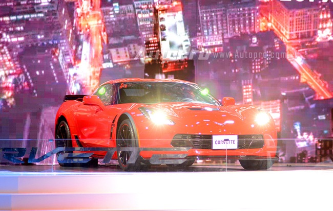 Chi tiết Chevrolet Corvette Grand Sport 2017 vừa ra mắt