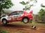 Chú chó thoát chết trong gang tấc tại giải đua xe địa hình