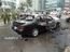 Xe Nissan cũ bốc cháy tại Hà Nội