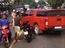 Bình Dương: KIA K3 đâm vào cảnh sát để giải cứu Chevrolet Colorado như phim hành động Hollywood