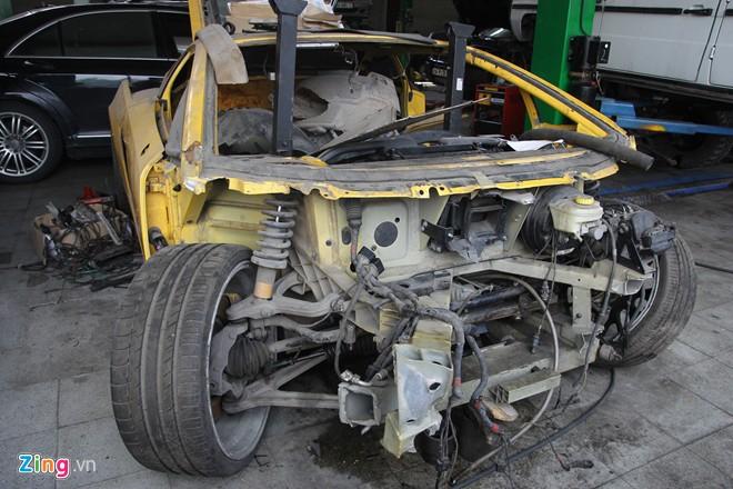 Tuy nhiên, sau 10 năm có mặt ở Việt Nam, siêu xe hiện chỉ còn là đống sắt vụn.