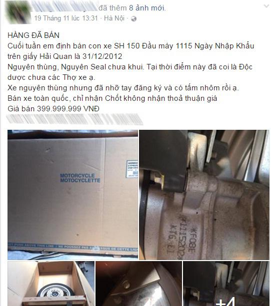Honda SH150i đời cũ bị bỏ rơi tại bãi gửi xe ở Hà Nội - Ảnh 10.