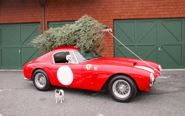 Choáng với màn vận chuyển cây Giáng sinh bằng siêu xe Ferrari 458 Italia - Ảnh 6.