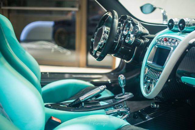 Bắt gặp siêu xe Pagani Huayra phiên bản rồng Dinastia xuống phố - Ảnh 5.