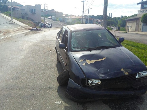 Người đàn ông lái ô tô cố tình đâm vào mô tô chở vợ cũ - Ảnh 4.