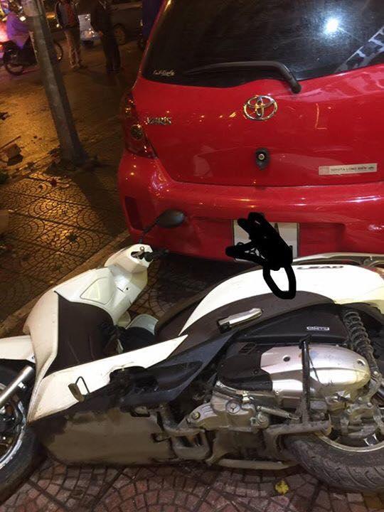 Toyota Yaris gây tai nạn liên hoàn tại Hà Nội, ít nhất 6 người bị thương - Ảnh 5.