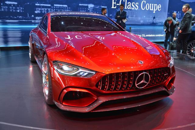 Xem quả bom sex 4 bánh Mercedes-AMG GT Concept lăn bánh ra khỏi triển lãm Geneva 2017 - Ảnh 5.
