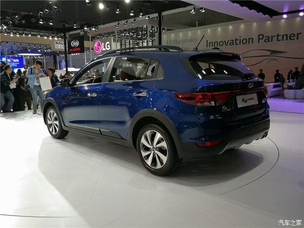 Vén màn crossover nhỏ xinh và giá mềm Kia K2 Cross - Ảnh 1.