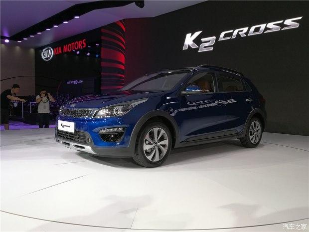 Vén màn crossover nhỏ xinh và giá mềm Kia K2 Cross - Ảnh 2.